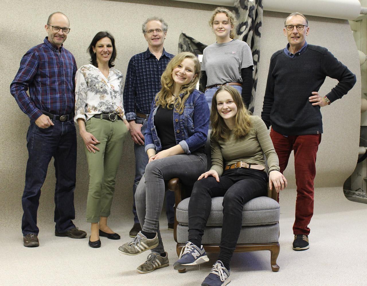 Team Bucher Innendekorationen 2021